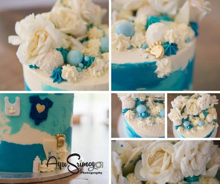 baby shower cake for baby boy